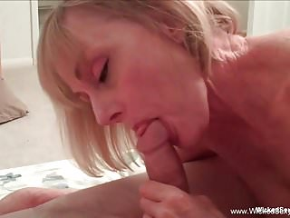 Mom Takes Control Of Cock