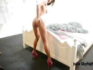 sexy girl erotic nude, close-ups legs & pussy, high heels