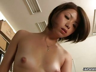 Asian lady tsubaki getting sex by her boss...