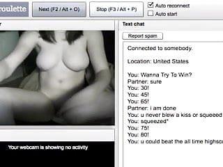 Chatroulette Girl Shows Everything