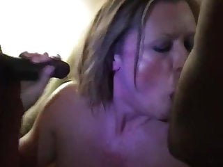 Suck Two BBCs Watching Jersey Mature Wife AC My in