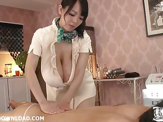 Asian with giant big tits