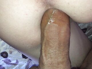 Filled with cum from a big dick