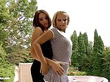 Passionate lesbian sex with Ally Breelsen and Lydia Lust on