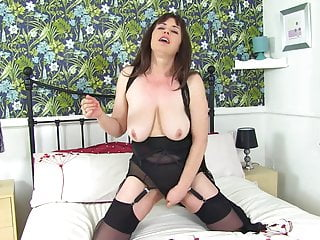 Nasty mature mother with hairy hungry pussy