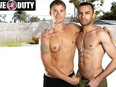 ActiveDuty - Brandon Anderson Breaks In Latin Soldier