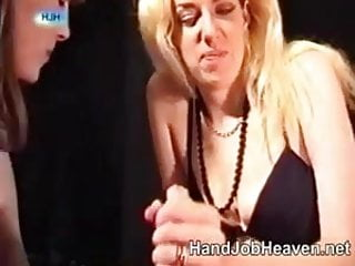 Homemade handjob from...