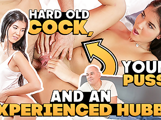 OLD4K. Seductive Madelina Dee is aware of the right way to activate her matur