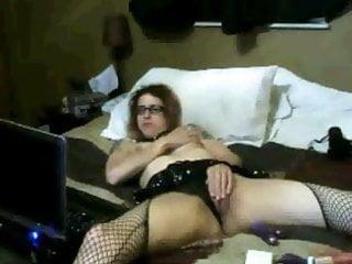 Fishnet Tights Wank Slut