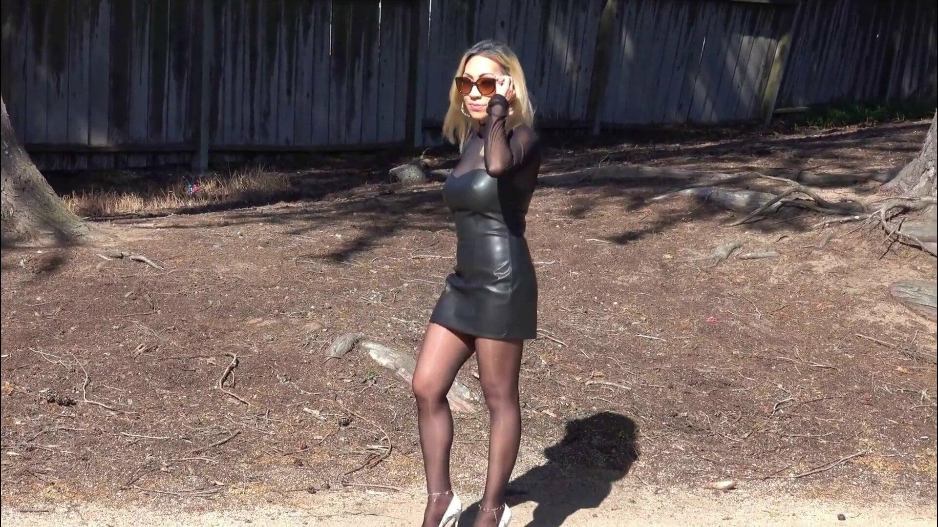 Dina in heels