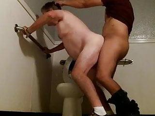 Amateur bathroom fuck...