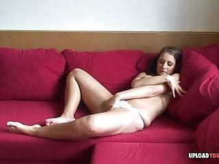 Webcam beauty shows before masturbating...