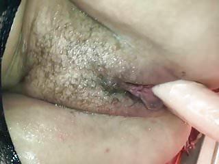 My Wife Frau mit Dildo fuck Pussy Hairy