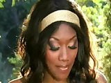 Nyomi Banxxx Nubian Queen and her White Slave