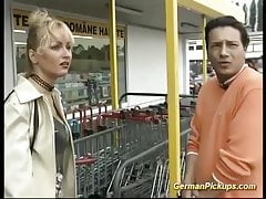 german milf picked up for first time anal video