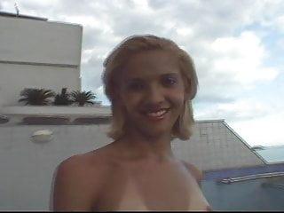 Teen ladyboy striptease