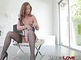 Amazingly hot Maddy O'Reilly fucks with a black hunk