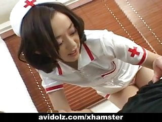 性感的日本護士獲取搞砸未經審查