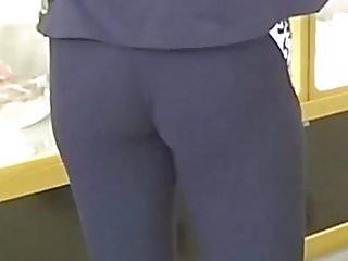 com calcinha socada na legging (skinny deliciious ass) 234