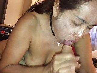 Thai granny blowjob-2