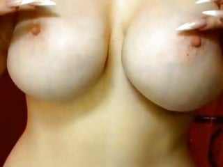 Perfect Juicy Bosoms, Love Her Big Tits and Red Lips