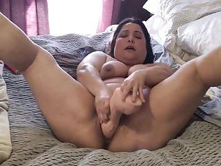 Amatuer enjoying huge cock...