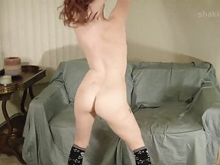 stripping naked but gotta keep the socks on