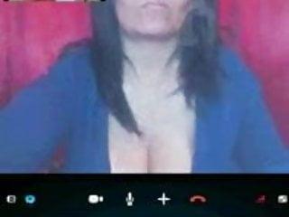 In skype...
