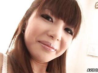 Japanese model, Sakurako is being naughty, uncensored