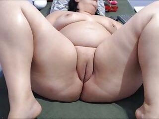 Cumming for my cousin on a video call