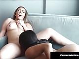 Blonde Babe Carmen Valentina Muff Dives Hot Ebony Jenna Foxx