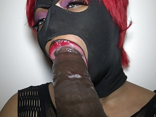 Dominican lipz makes bbc cum twice aftere sloppy...