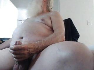 Chubby granddad cock...