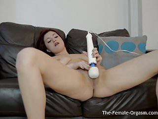 Sexy tattood babe vibrater magic wand...