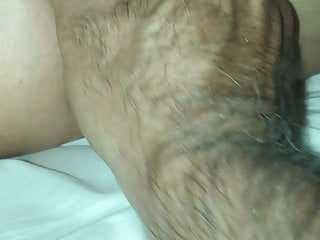 horny mom Masturbates with butt plug and magic wand