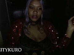 Smoking Fetish- Late Night Glitter Tease -Digital Deity Kuro