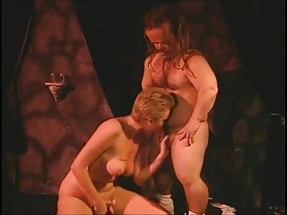 Hot blonde candy fucked by dirty bums...