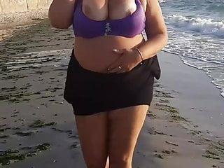On sea she not shy undress when people...
