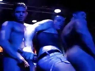 Strippers dancing nude...