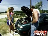 Two Girls Need A Mechanic