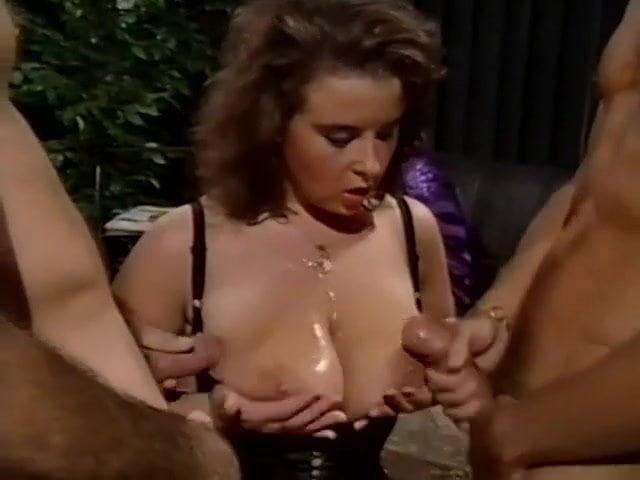 Big Saggy Tits Gangbang