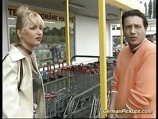 German milf video...