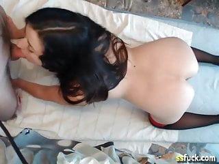 Anal on webcam...