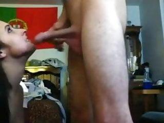 Portuguese GF Blowjob