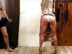 Women's day 9 – hard whipping & blowjob