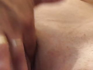 Wife rubbing her pussy 2019