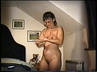 Yvonne naked at bedtime