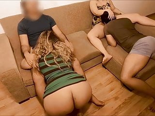 Amazing homemade wife swapping