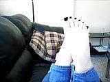 removing the socks