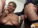 Granny Big Tits Secretary